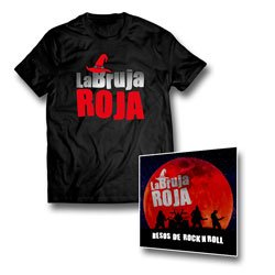 Camiseta + CD Besos de Rock n Roll